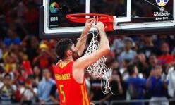 篮球世界杯第15日五佳球