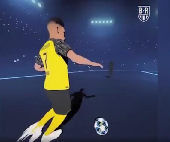 欧冠宣传片震撼来袭 快来一起看看有没有自己喜欢的球星吧