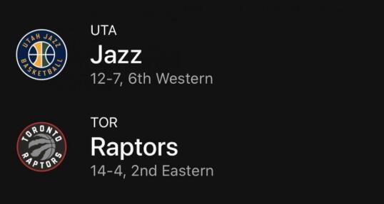 12月02日NBA常规赛 爵士vs猛龙 全场录像