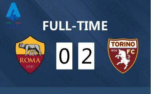 罗马vs都灵全场集锦  贝洛蒂双响+两中框 罗马0-2都灵近六轮首败