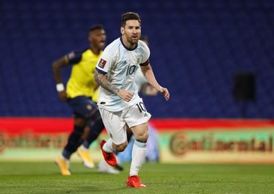 世预赛-梅西点射破门 阿根廷1-0厄瓜多尔取开门红