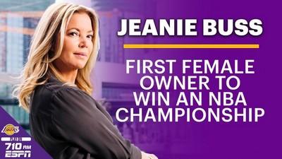 巾帼不让须眉 珍妮-巴斯成为首位获得总冠军的女老板