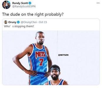欧文毒瘤实锤 ESPN主播:他是唯一能阻止篮网球员 KD扎心